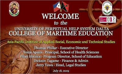 UPHSD WELCOMES SCHOOL OFFICIALS FROM PAPUA NEW GUINEA